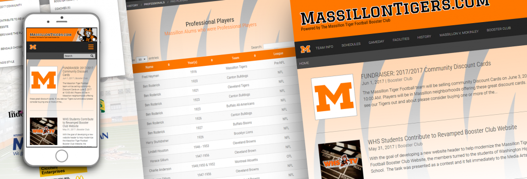 Massillon Tigers Website Teaser